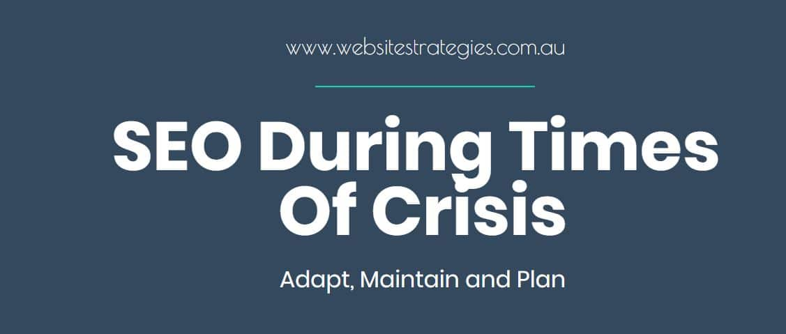 SEO During Times Of Crisis
