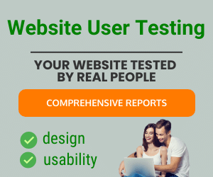 website user testing services