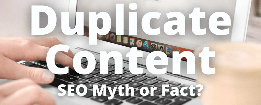 duplicate content is harmful for seo myth or fact